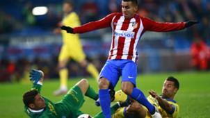 Lizoain Angel Correa Atletico Madrid Las Palmas Copa del Rey