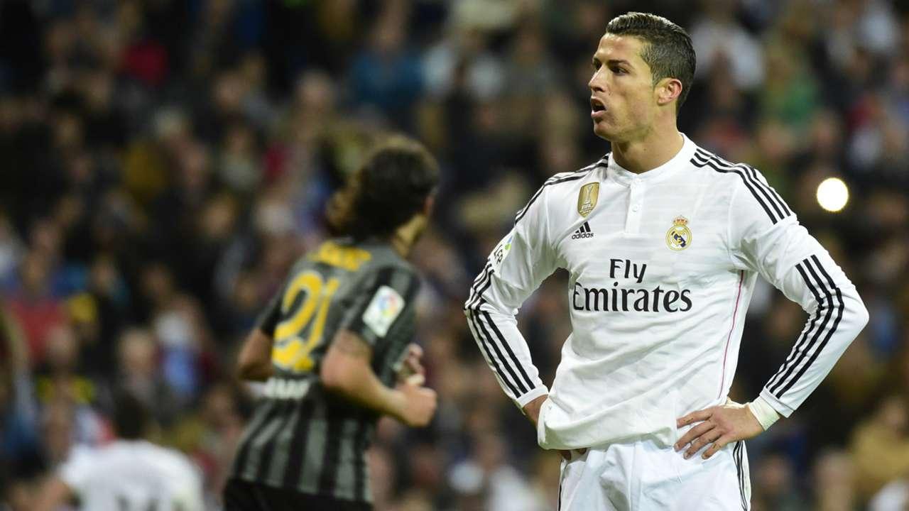 Cristiano Ronaldo Real Madrid Malaga Liga BBVA 04182015