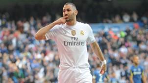 Karim Benzema Real Madrid Getafe La Liga 05122015