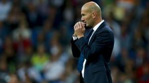 Zinedine Zidane Real Madrid Sporting CP 14092016
