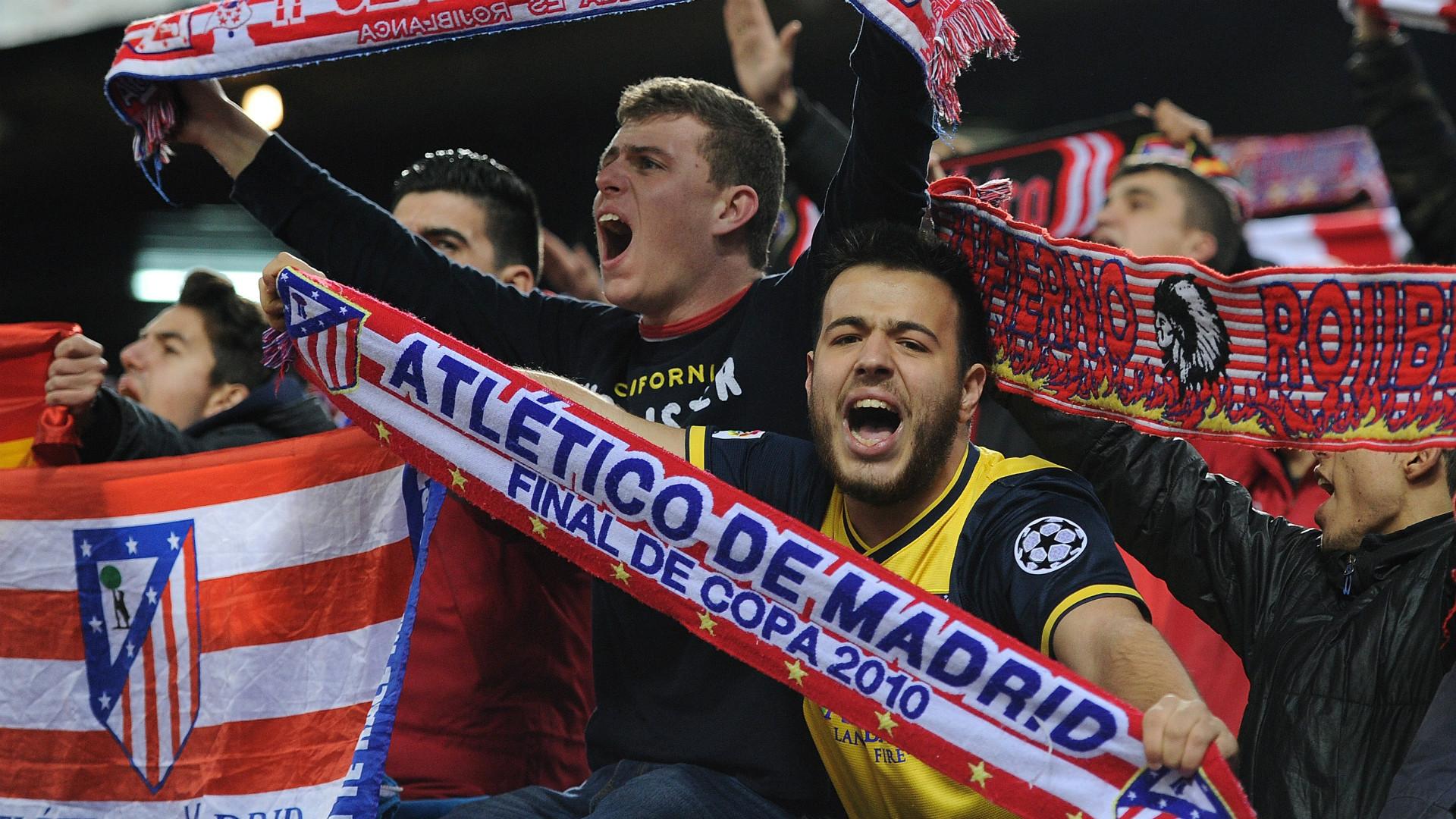 Supporters Atletico de Madrid
