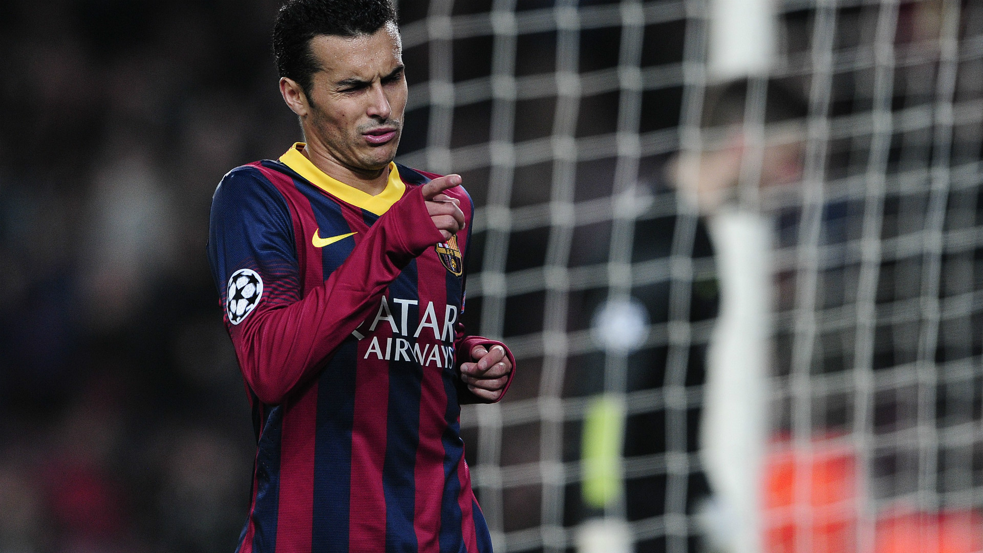 Pedro Barcelona Celtic 2013