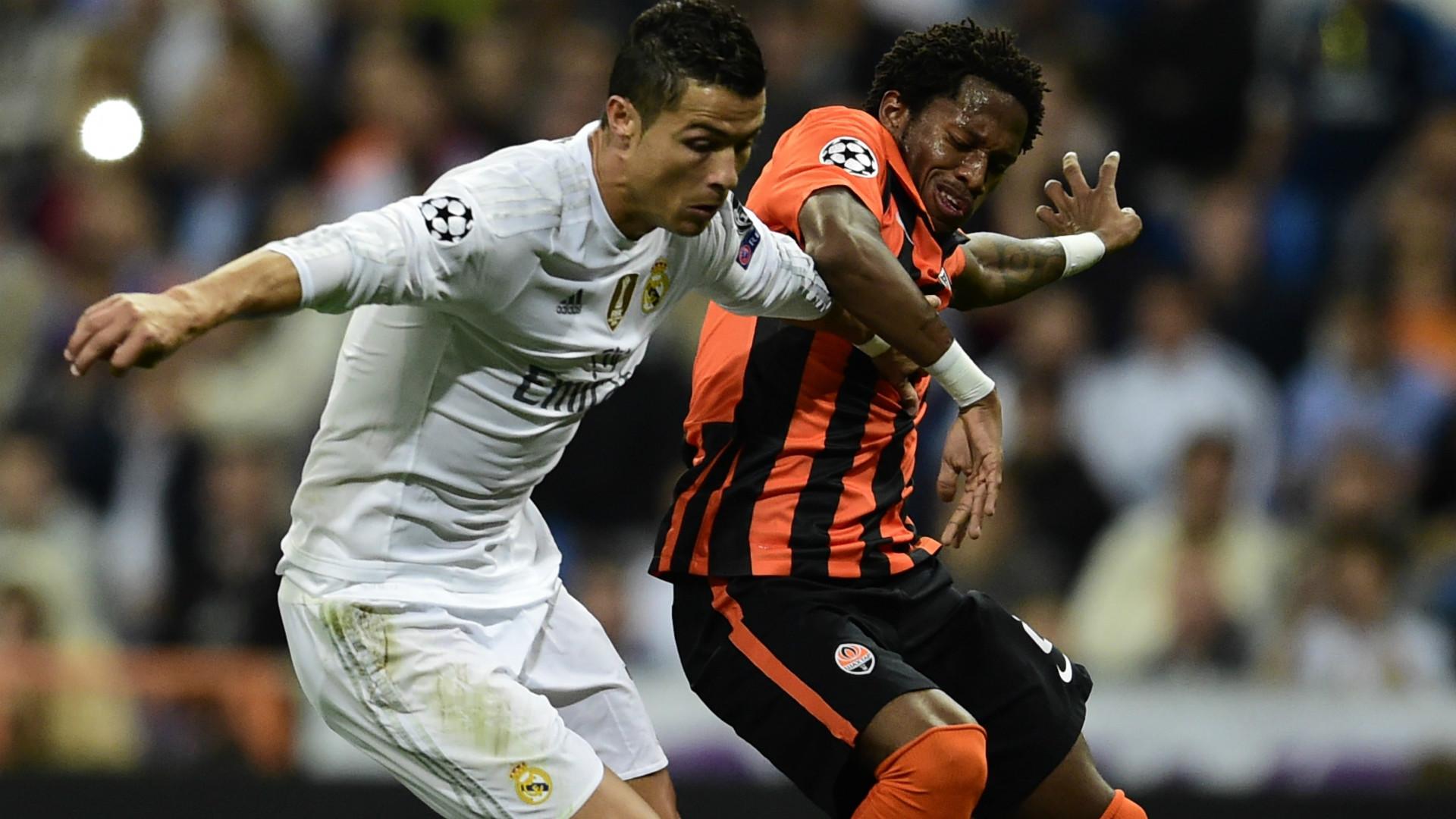 Cristiano Ronaldo Fred Real Madrid Shakhtar Donetsk Champions League