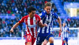 Marcos Llorente Nico Gaitan Alaves Atletico Madrid La Liga