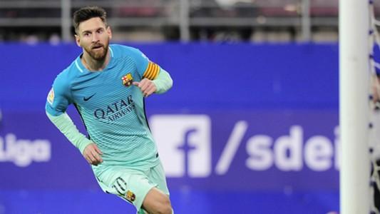 Lionel Messi Eibar Barcelona LaLiga 22012017