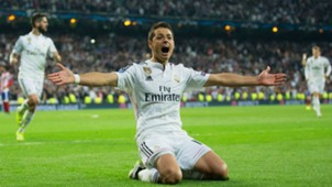 Chicharito Hernandez Real Madrid Atletico de Madrid Champions League 04222015