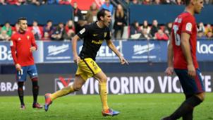 Diego Godin Osasuna Atletico Madrid La Liga