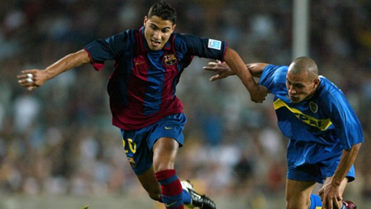 Quaresma ex Barcelona player