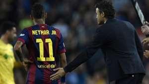 Neymar Luis Enrique Barcelona