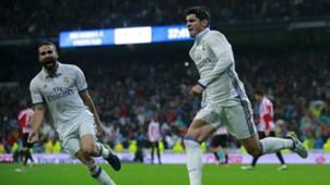 Alvaro Morata Dani Carvajal Real Madrid Athletic Bilbao La Liga 23102016