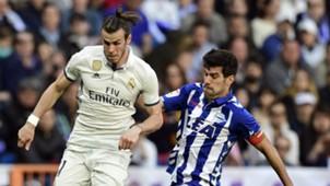 Gareth Bale Manu Garcia Real Madrid Alaves La Liga