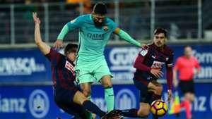 Lionel Messi Ander Capa Eibar Barcelona LaLiga 22012017