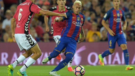 Neymar Barcelona Alaves La Liga 10092016