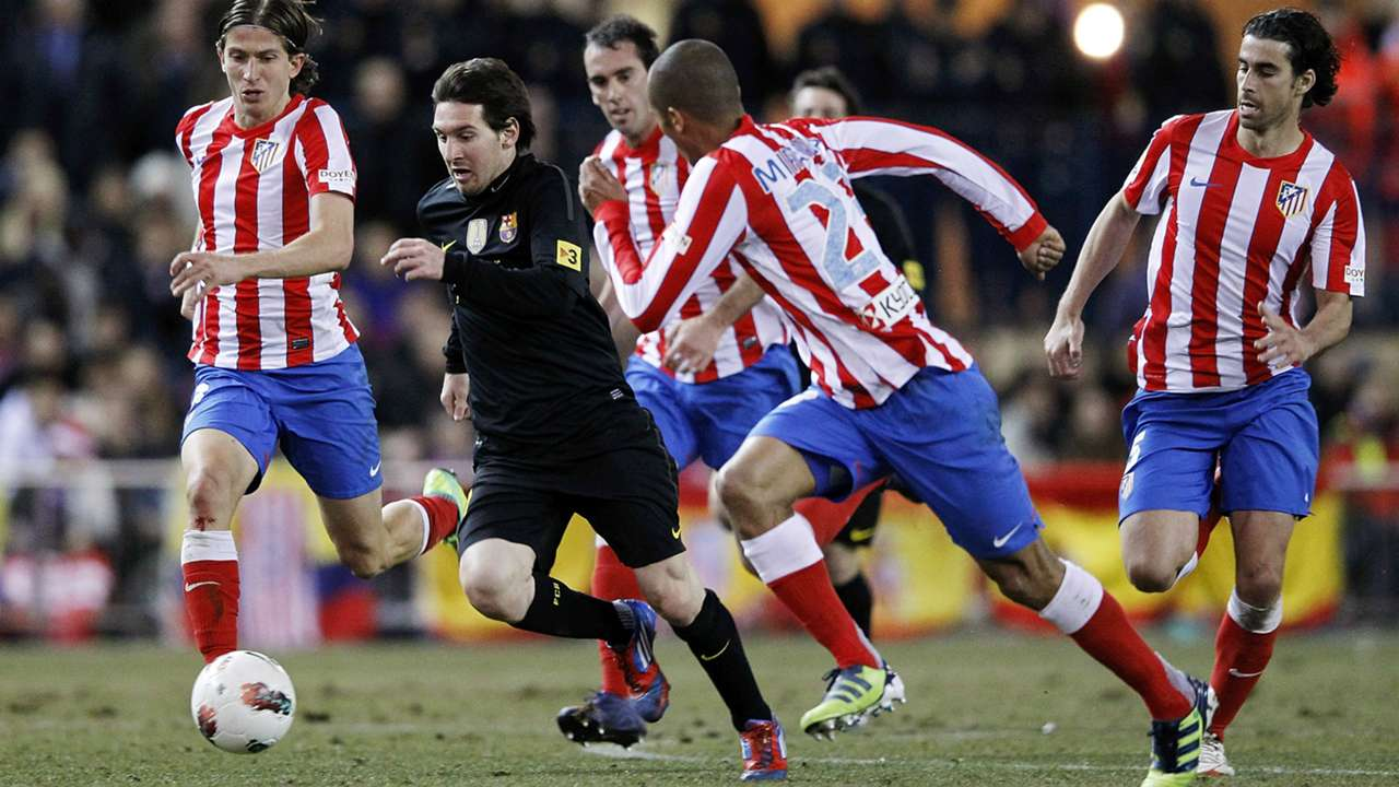 Lionel Messi vs Atlético Madrid