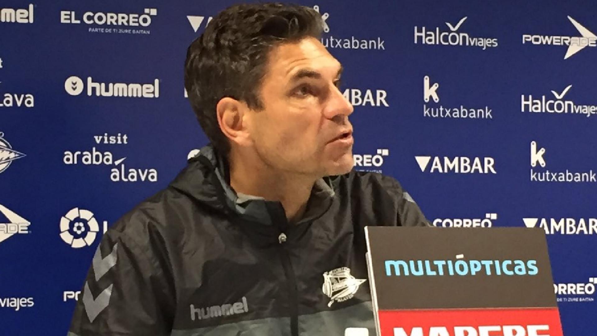 Mauricio Pellegrino Alaves press conference