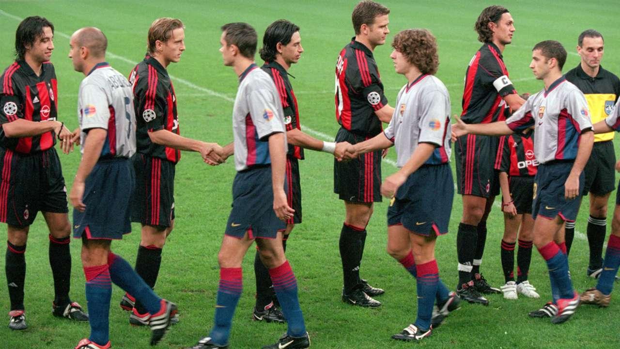 Barcelona Milan 2000 2001