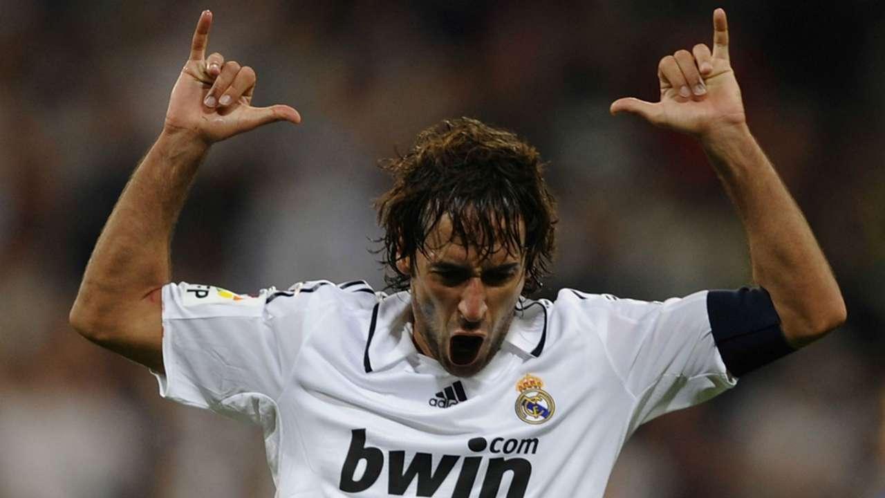 Raul Gonzalez Real Madrid Copa del Rey