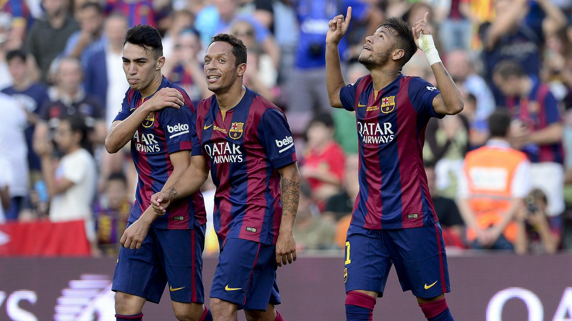 Munir Adriano Neymar Barcelona Granada La Liga