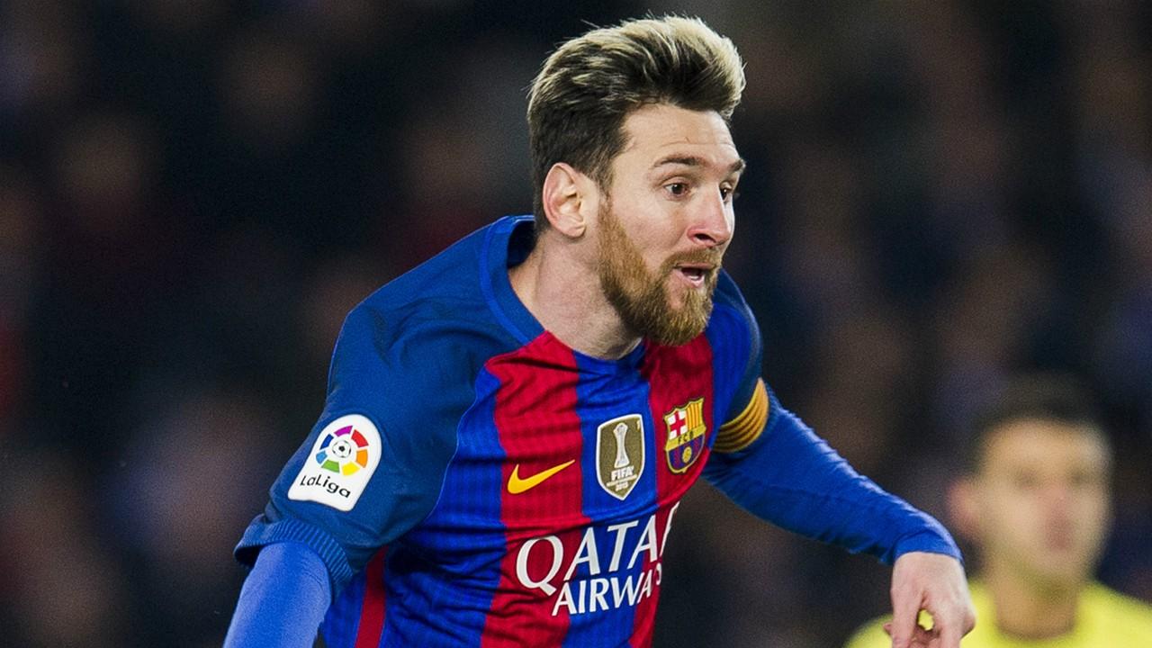 Lionel Messi Real Sociedad Barcelona La Liga 27112016