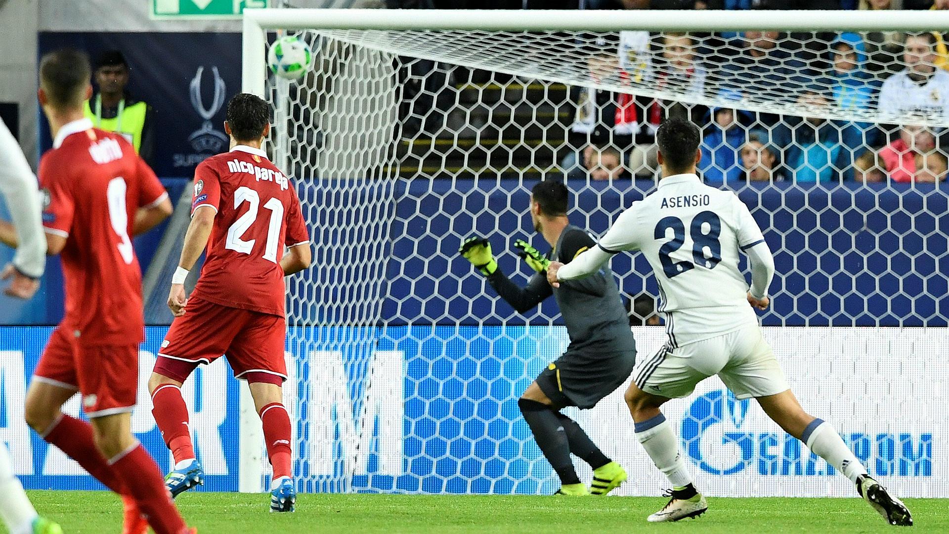 Marco Asensio Real Madrid Sevilla UEFA Supercup 09082016