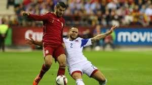 Alvaro Morata Spain Luxembourg 09102015