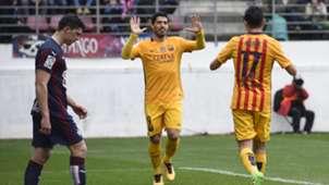 Luis Suarez Munir Eibar Barcelona 07032016
