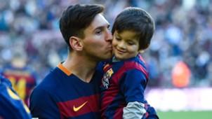 Lionel Messi Thiago Messi