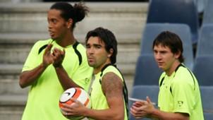 Ronaldinho Deco Messi Amigos