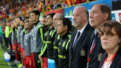 VICENTE DEL BOSQUE SPAIN COSTA RICA FRIENDLY 06112015