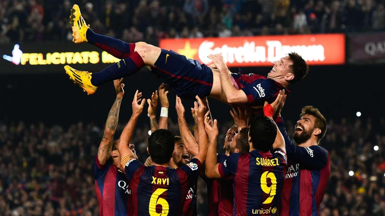 22/11/2014 | Barcelona 5-1 Sevilla (Messi x3, Jordi Alba [PP], Neymar, Rakitic) | La Liga