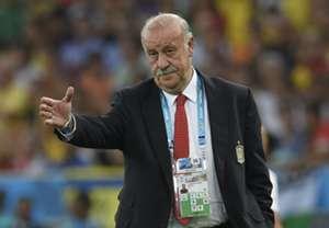 Vicente Del Bosque Spain Chile 2014 World Cup Group B 06182014