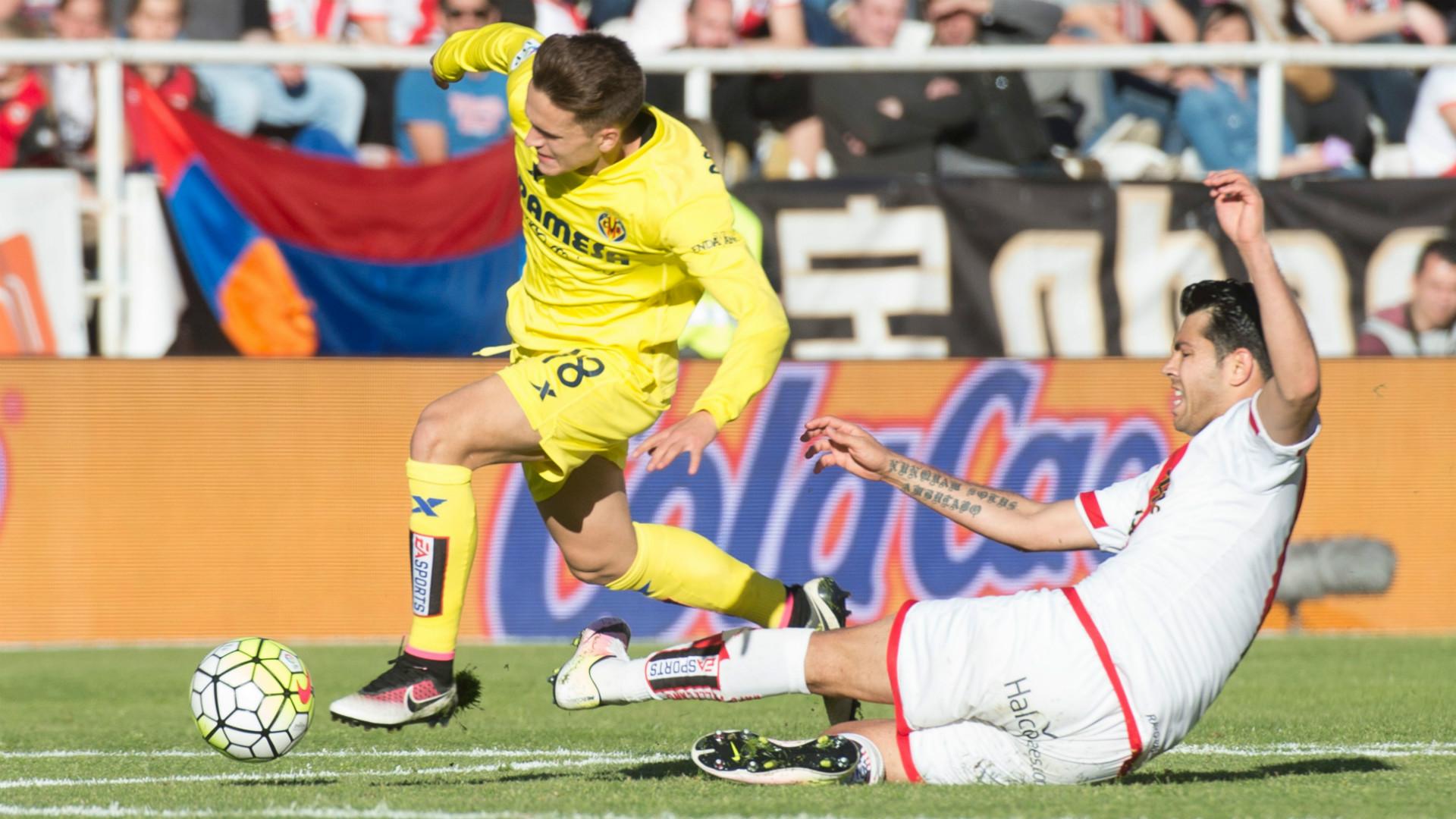 Denis Suarez Miku Rayo Vallecano Villarreal Liga BBVA