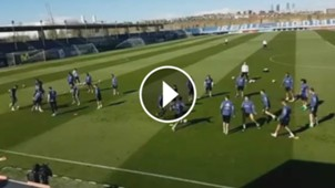 GFX VID REAL MADRID TRAINING
