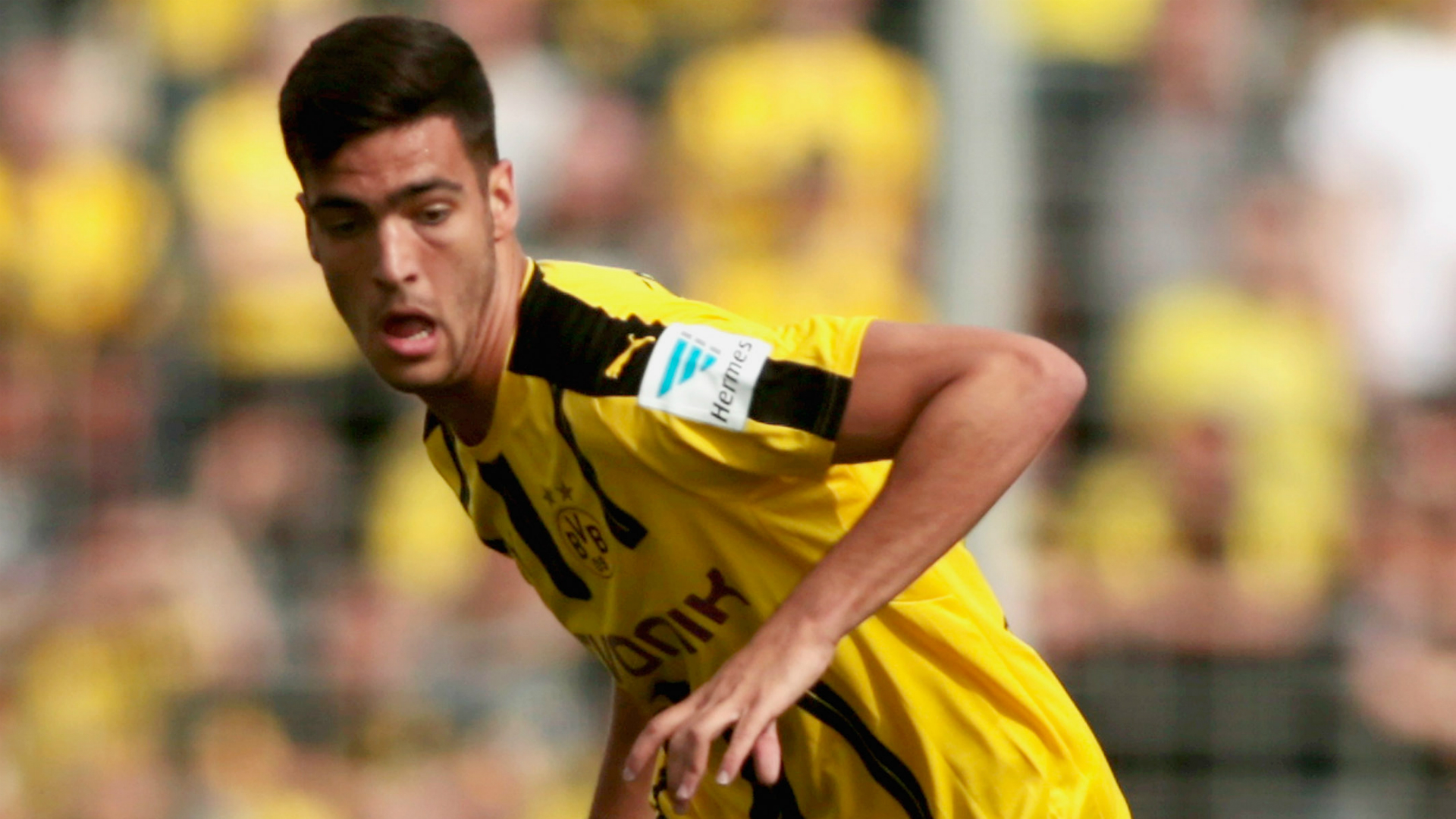 Dortmund's Merino joins Newcastle on season-long loan