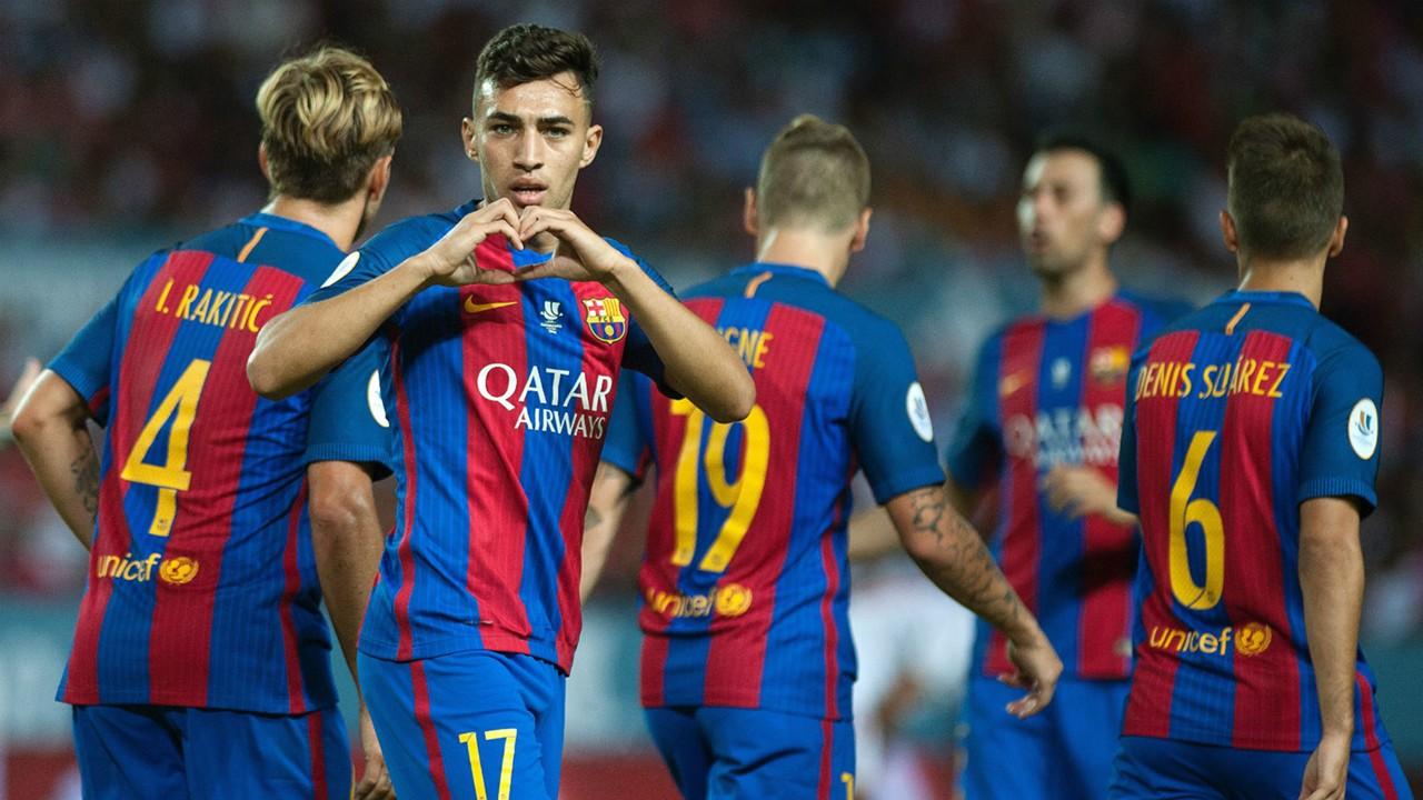 Munir Sevilla Barcelona Spanish Supercup 14082016