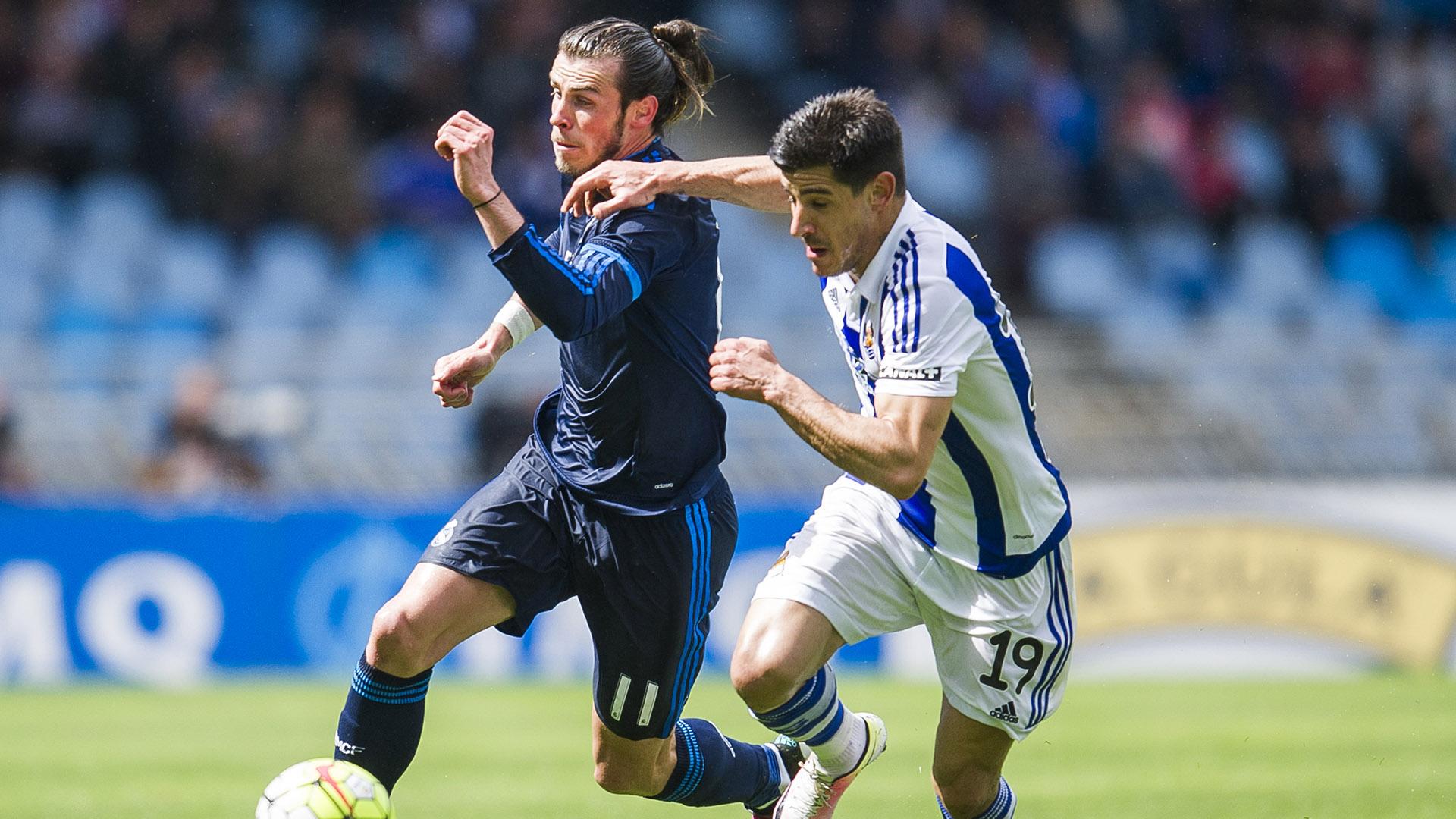 Gareth Bale Yuri Berchiche Real Sociedad Real Madrid 30042016