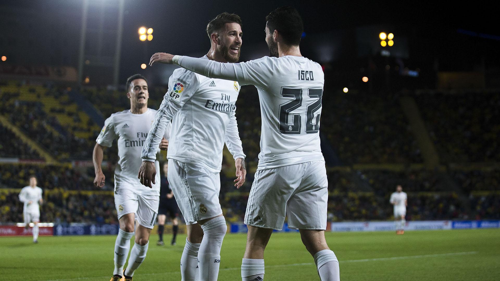 Sergio Ramos Isco Alarcon Las Palmas Real Madrid 13032016