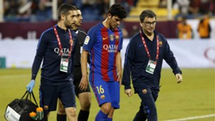 Carles Aleña Al Ahli Barcelona friendly