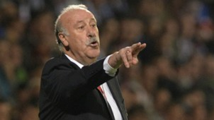 Vicente del Bosque Slovakia Spain Euro 2016 Qualifier