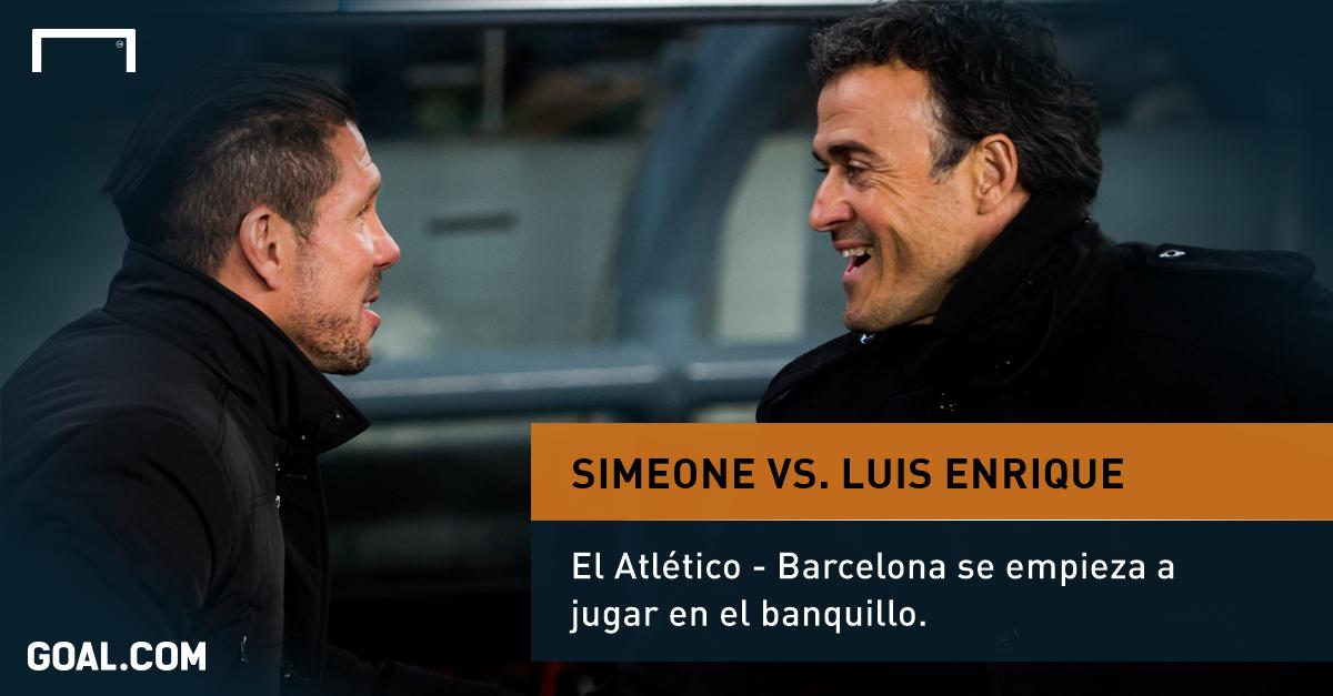 Simeone v Luis Enrique