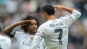 Cristiano Ronaldo Marcelo Real Madrid Levante La Liga 101712015