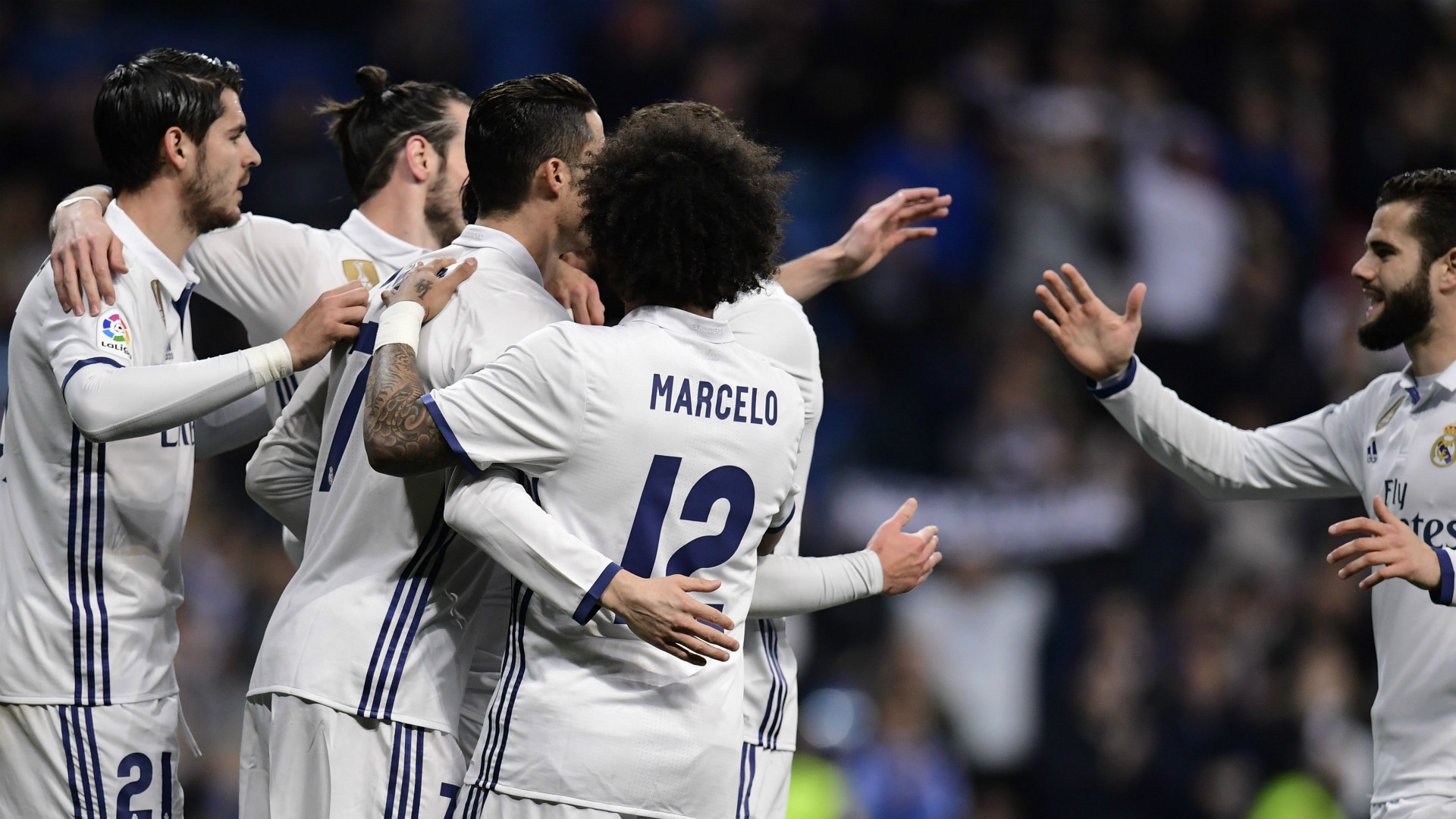 Morata Marcelo Real Madrid Las Palmas LaLiga