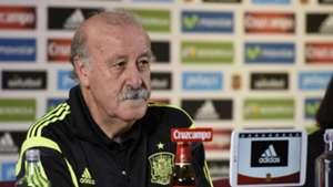 Vicente del Bosque Spain Press Conference 08102015
