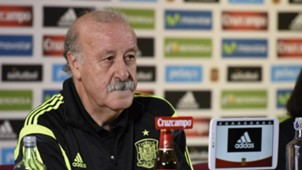 Vicente del Bosque Spain Press Conference 08102015