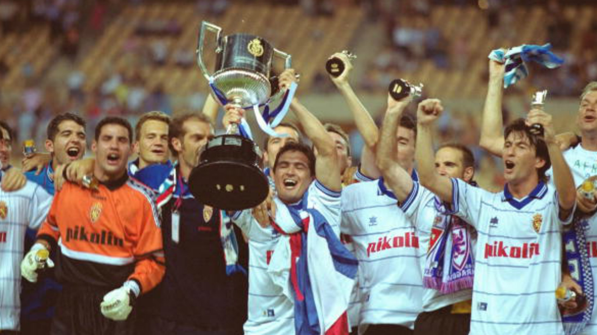 Zaragoza Celta Final Copa del Rey 2001