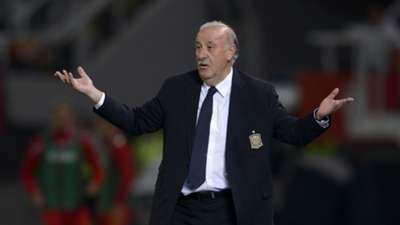 Vicente del Bosque Macedonia Spain Euro Qualifier