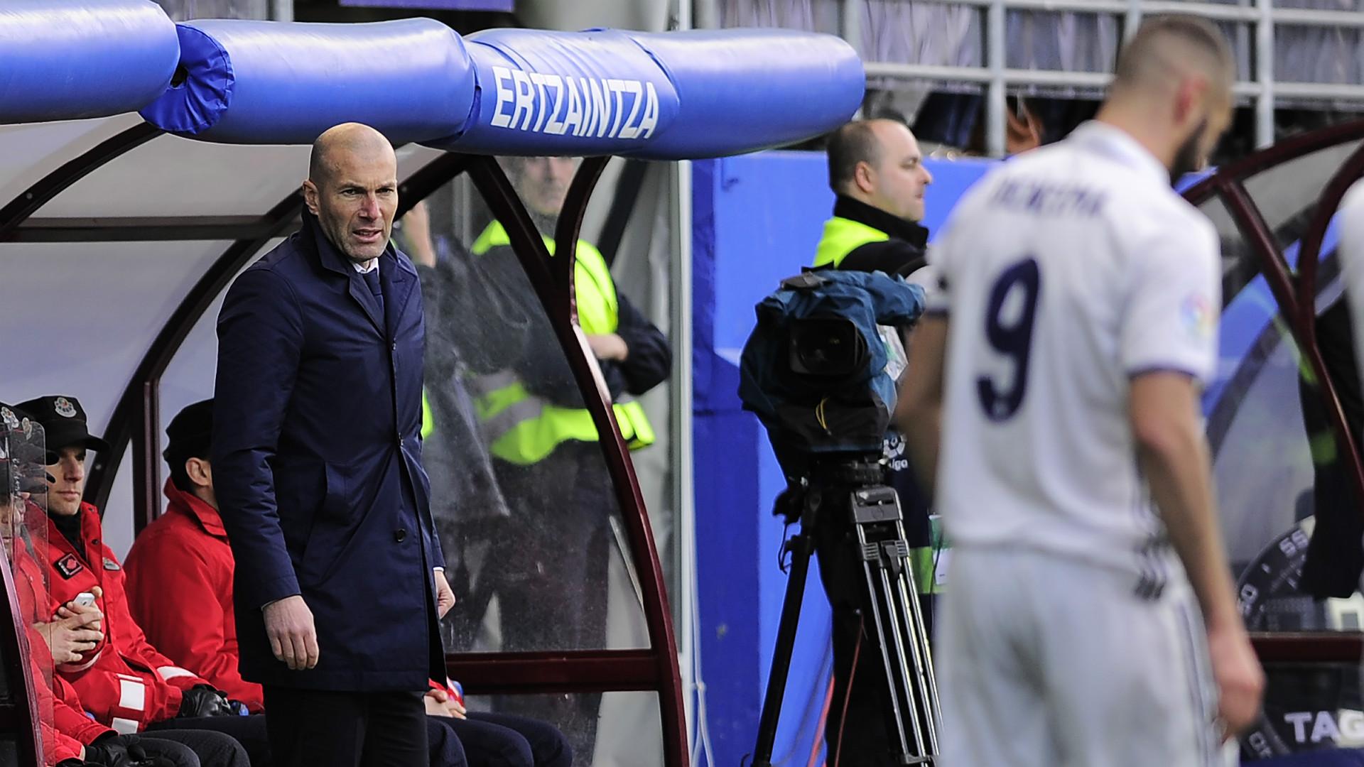 Zinedine Zidane Eibar Real Madrid LaLiga 04032017