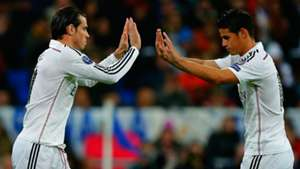 Gareth Bale James Rodriguez Real Madrid La Liga