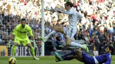 Kiko Casilla Gareth Bale Diego Colotto Real Madrid Espanyol Liga BBVA 01102015