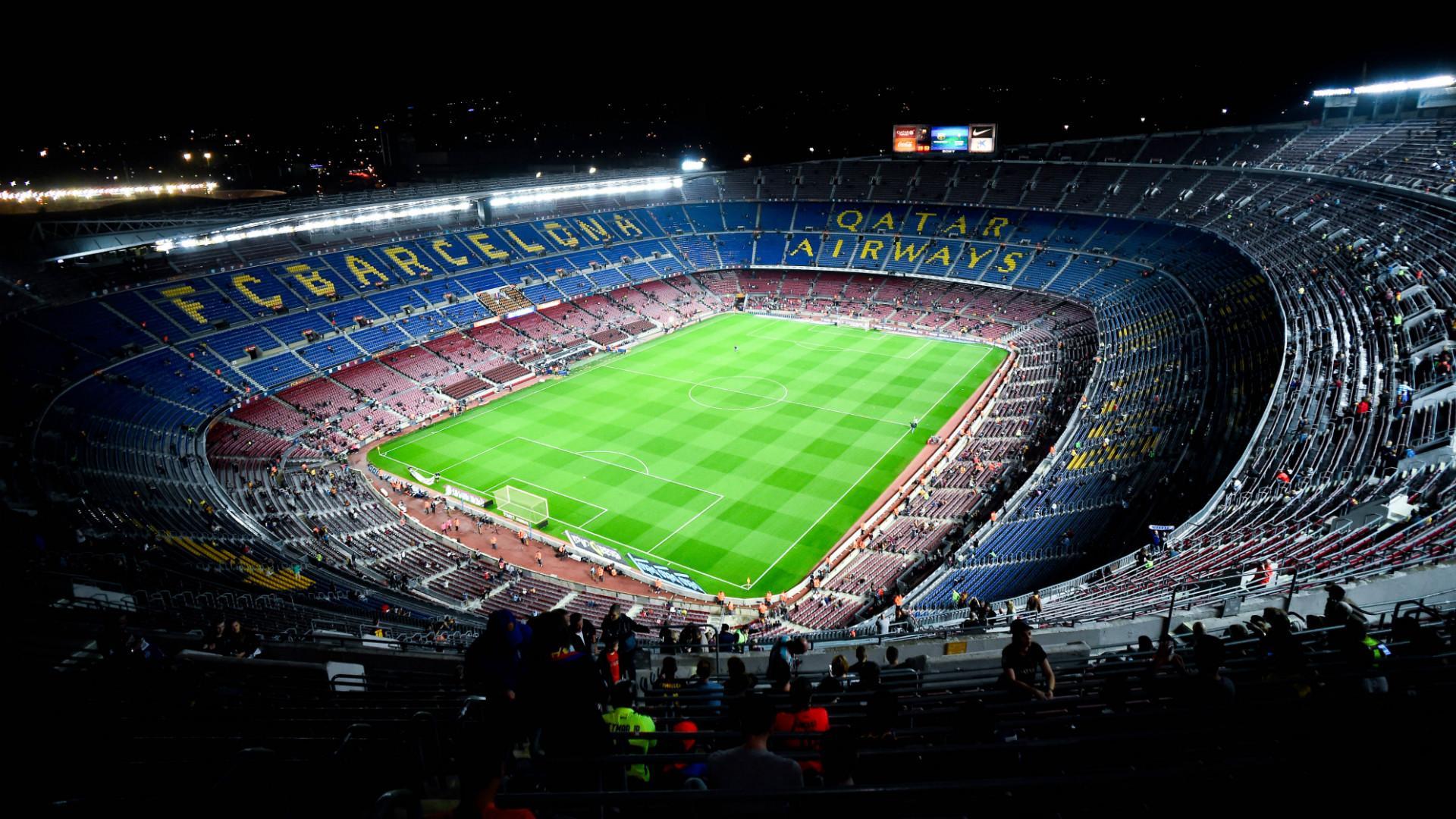 La Liga: Camp Nou Barcelona La Liga 01112014